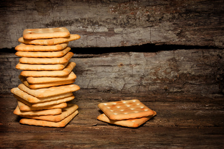 breakfast food: Traditional classic biscuits for breakfast