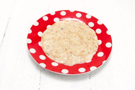 nourishing: Nourishing useful porridge for breakfast Stock Photo