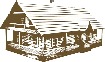 Vector illustration of an house.
