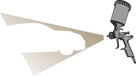pintura del coche