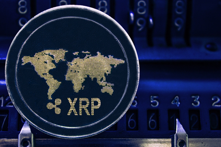 Coin cryptocurrency Ripple and the numbers of the arithmometer. The concept of production or rate of XRP.