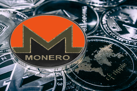 coin cryptocurrency Monero XMR against the main alitcoins the Ethereum, dash, litecoin