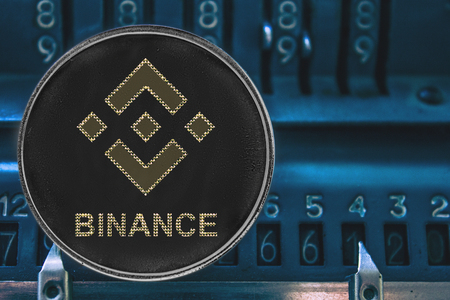 Coin cryptocurrency Binance and the numbers of the arithmometer. The concept of BNB.