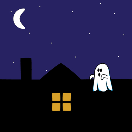 frightful: Ghost on the roof