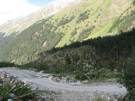 caucasus: Caucasus Mountains