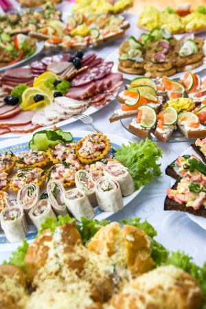 fillers: PARTY FOOD