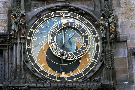 medieval clocks in Prague