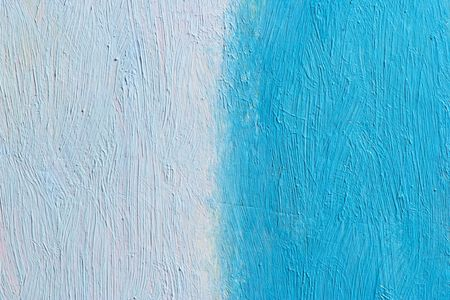 painted canvas (blue and turquoise colors on rough surface)