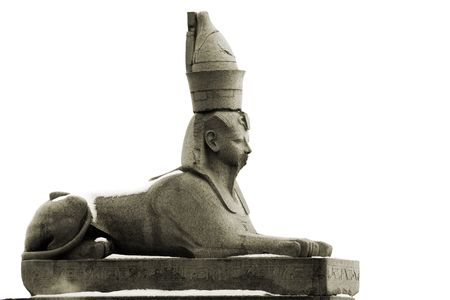 granite sphinx in Petersburg Stock Photo - 4434423