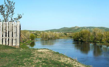 river in Kazakhstan Stock Photo - 4456887