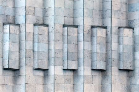 constructivism: element of building in style of constructivism