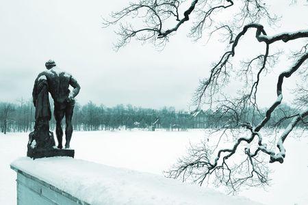 Hercules in park photo