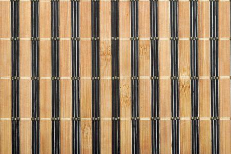 traditional bamboo mat