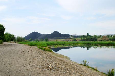 marsh in Kazakhstan, Asia Stock Photo - 4721310