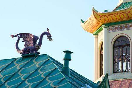 chinese pagoda in St. Petersburg photo