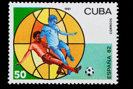 cuban post stamp photo