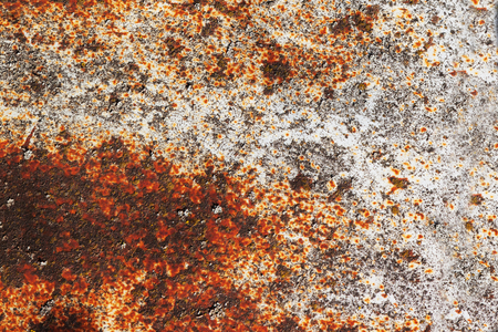 Old Metal iron rust brown background and texture