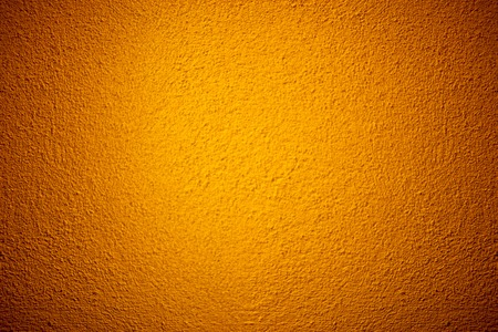 Orange color grunge cement wall texture background Stok Fotoğraf - 124902214