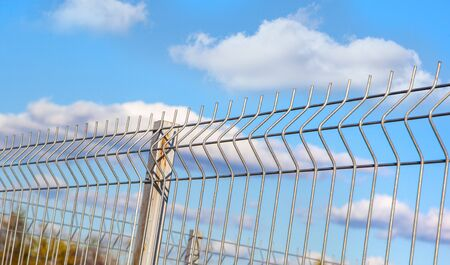 grating wire industrial fence panels, pvc metal fence panel Editorial