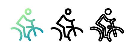 Bike icon vector illustration. Vector icon.