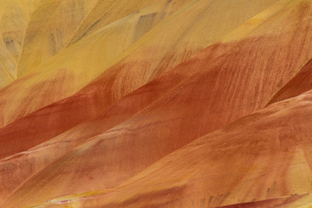 wheeler: Painted Hills, Oregon. Painted Hills is one of the three units of the John Day Fossil Beds National Monument, located in Wheeler County, Oregon.