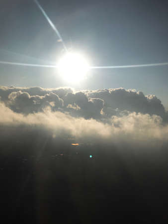 Flying Above the Heavenly Clouds
