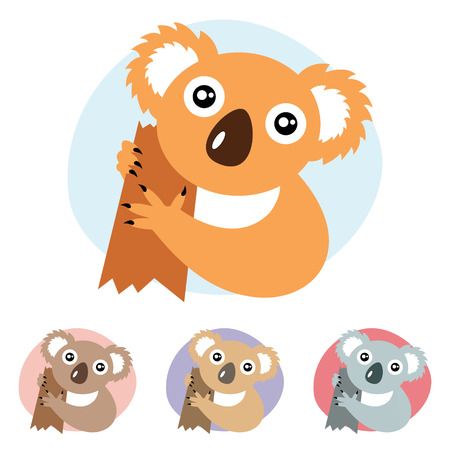 Koala  Vector illustration  Vector