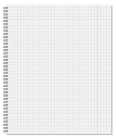 book binding: Notebook  Vector illustration  Illustration