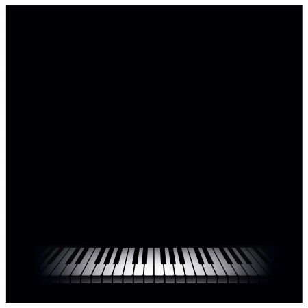 piano key: Piano background  Vector illustration
