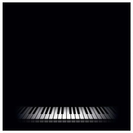klavier: Piano Hintergrund Vektor-Illustration