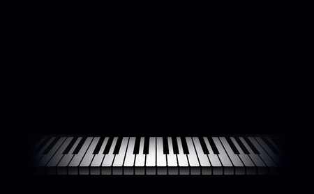 Piano background  Vector illustration Reklamní fotografie - 23508802