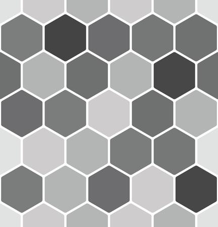 원활한 벌집 패턴 일러스트