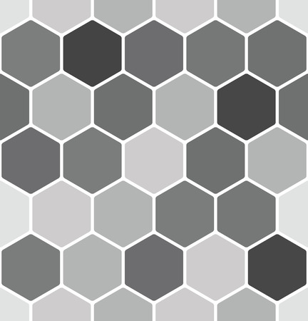 Patrón de panal transparente