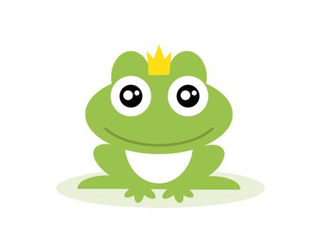 カエルの王子  イラスト・ベクター素材