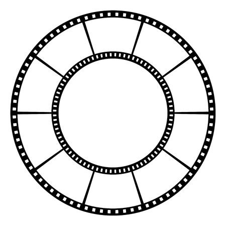 Film tape  Vector illustration Stok Fotoğraf - 29650378
