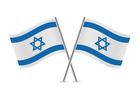 Israel Flags illustration