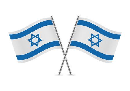 Israel Flags illustration