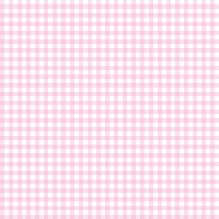 Pink seamless gingham pattern. Vector illustration.