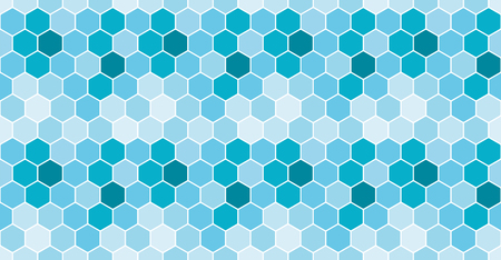 Seamless honeycomb pattern. Vector background. Ilustracja