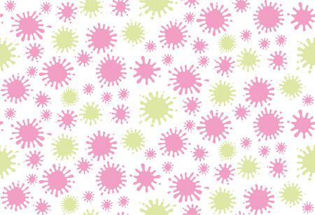 Blots seamless pattern. Dotted texture. Abstract vector background.
