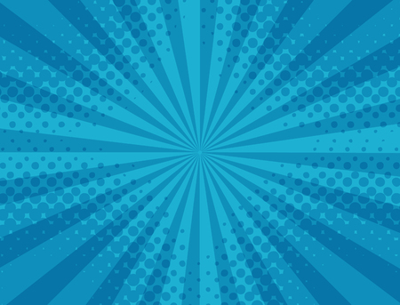 Abstract blue striped, halftone pattern. Vector background .