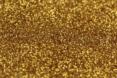 Gold glitter abstract background