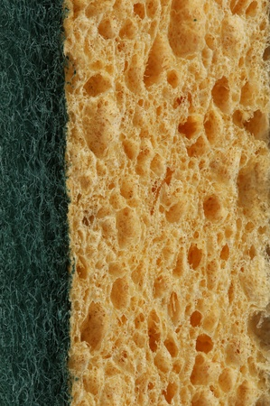 Kitchen sponge background photo