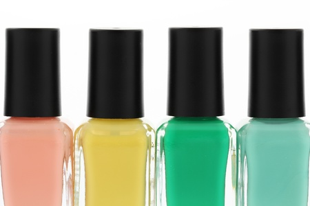 Nail polish bottles photo