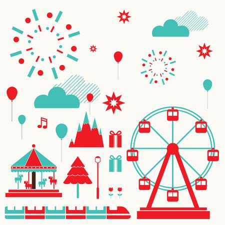 ferris wheel: Fun Park