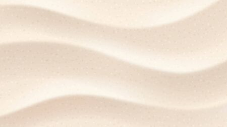 Tropical desert dunes. Beach sands top view angle. Vector background illustration 写真素材 - 148822507