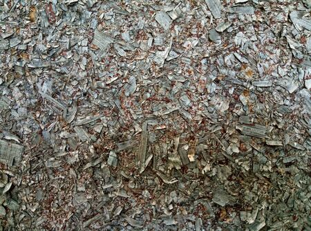 background of pieces of preson woodchips texture 写真素材