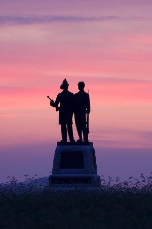 Gettysburg National Military Park in Pennsylvania