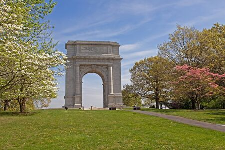 The National Memorial Arch at Valley Forge,PA