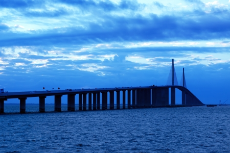 skyway: The Bob Graham Sunshine Skyway Bridge This bridge spans Tampa Bay,connecting St Petersburg and Terra Ceia,Florida